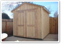 8 x 8  building, board &  batten