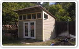 10 x 12 Reverse Lean-to, 8ft to 10ft walls