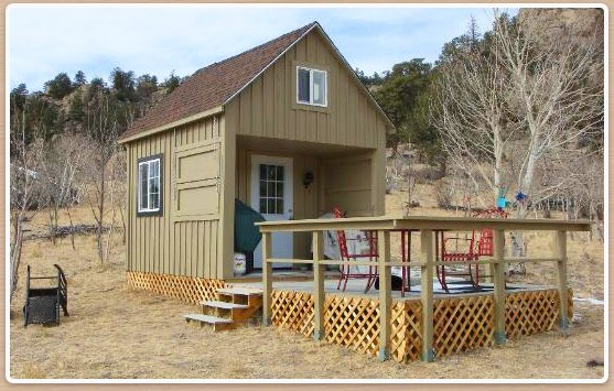 Small cabins get your colorado getaway built for 600 sq ft cabin kits