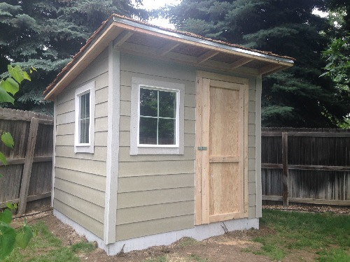 Lean To Shed Style